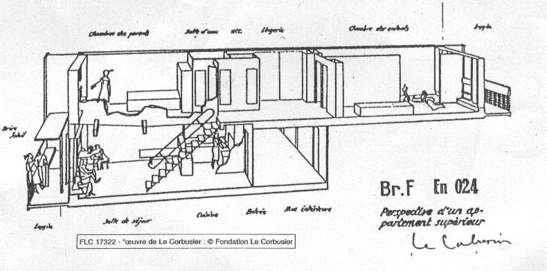 La maison des hommes marseille costruttoridifuturo - Unite d habitation dimensions ...