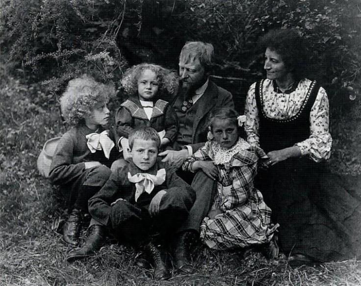 1911 - Famiglia Giacometti a Stampa
